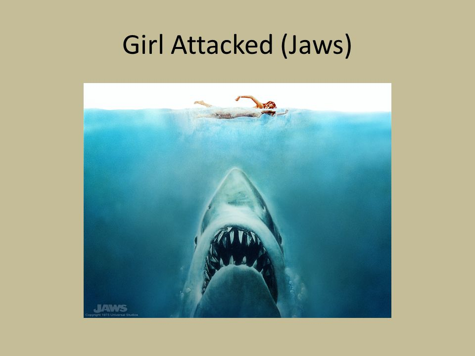 Girl Attacked (Jaws)