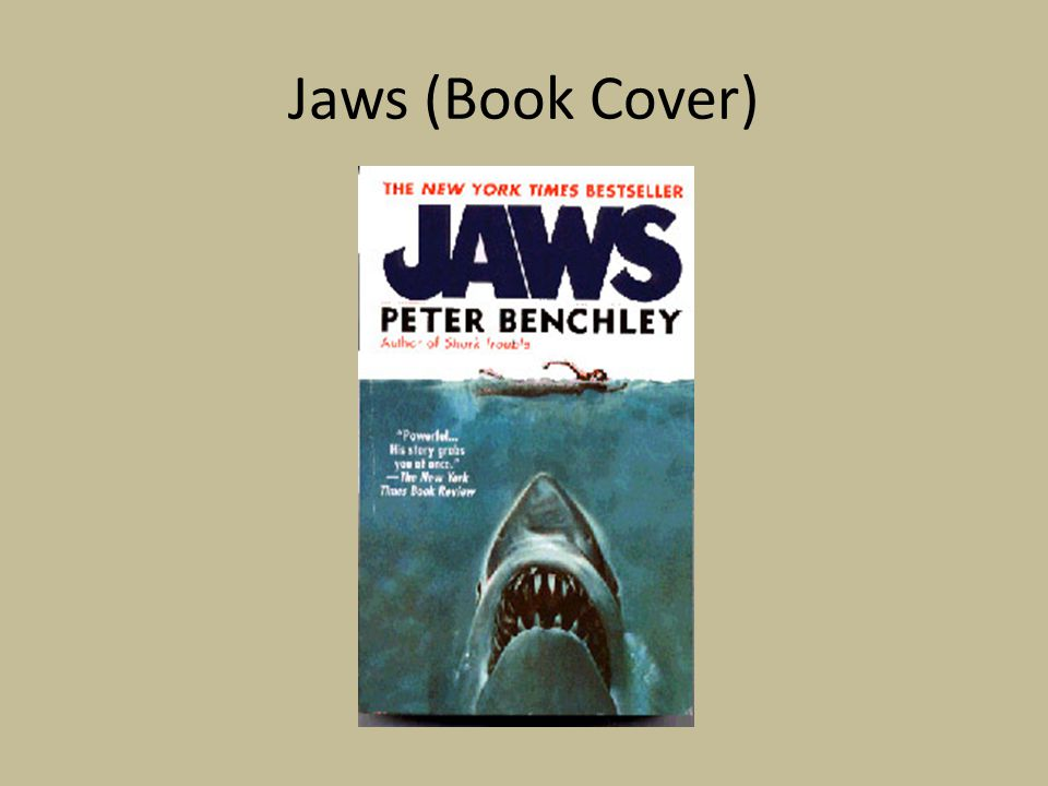 Jaws (Book Cover)