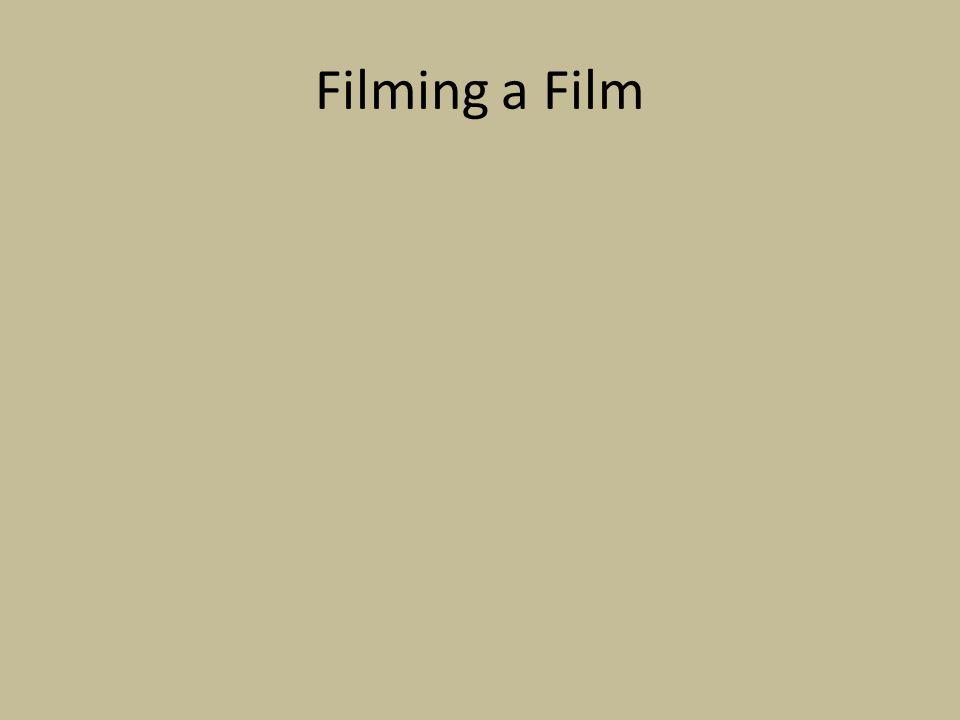Filming a Film