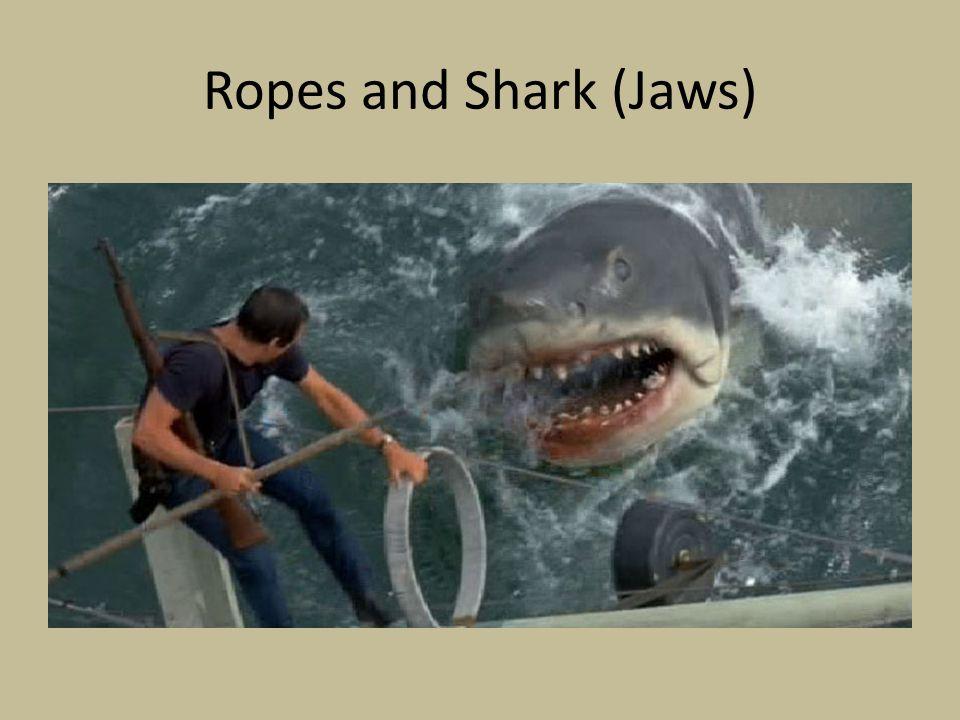 Ropes and Shark (Jaws)