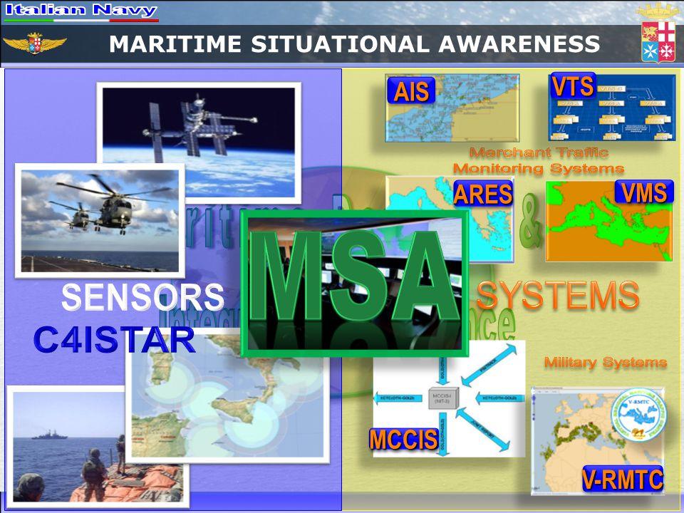 MARITIME SITUATIONAL AWARENESS AISAIS ARESARES MCCISMCCIS VTSVTS VMSVMS V-RMTCV-RMTC