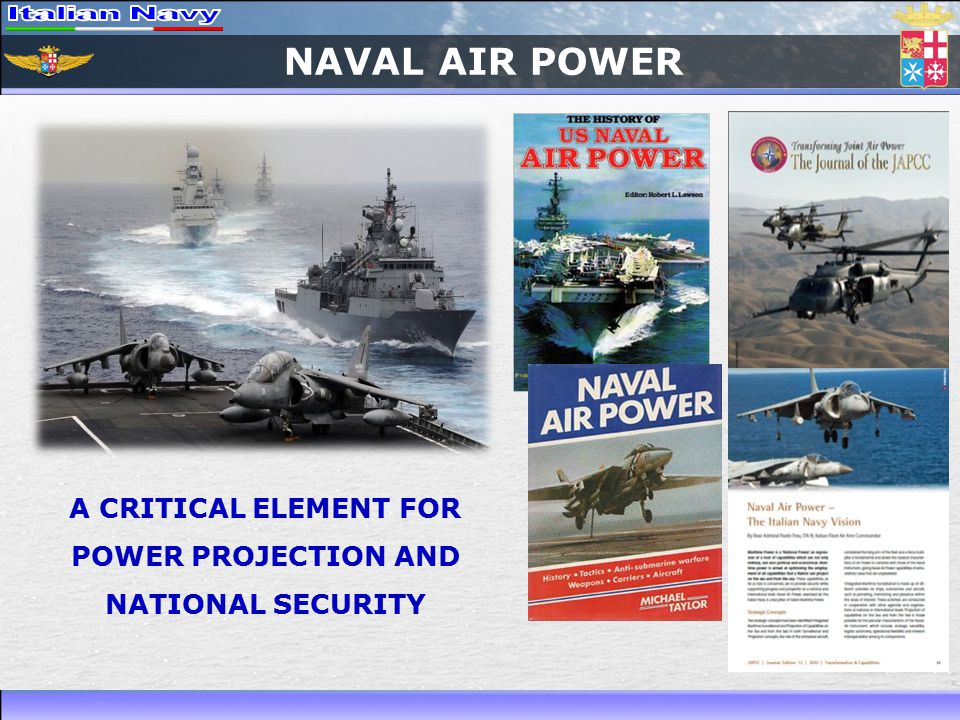 NAVAL AIR POWER A CRITICAL ELEMENT FOR POWER PROJECTION AND NATIONAL SECURITY