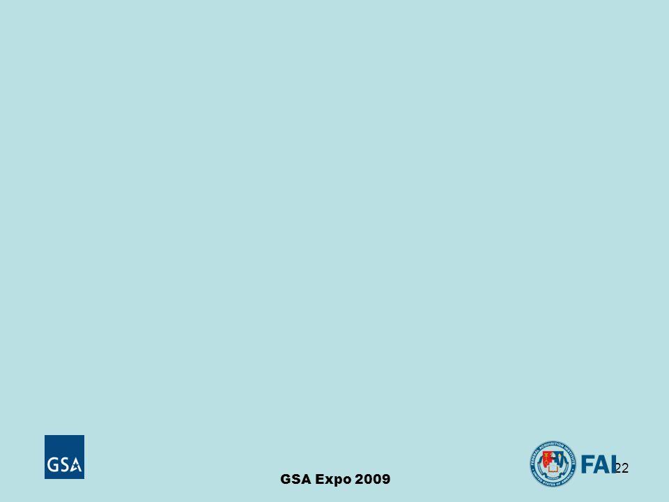 22 GSA Expo 2009