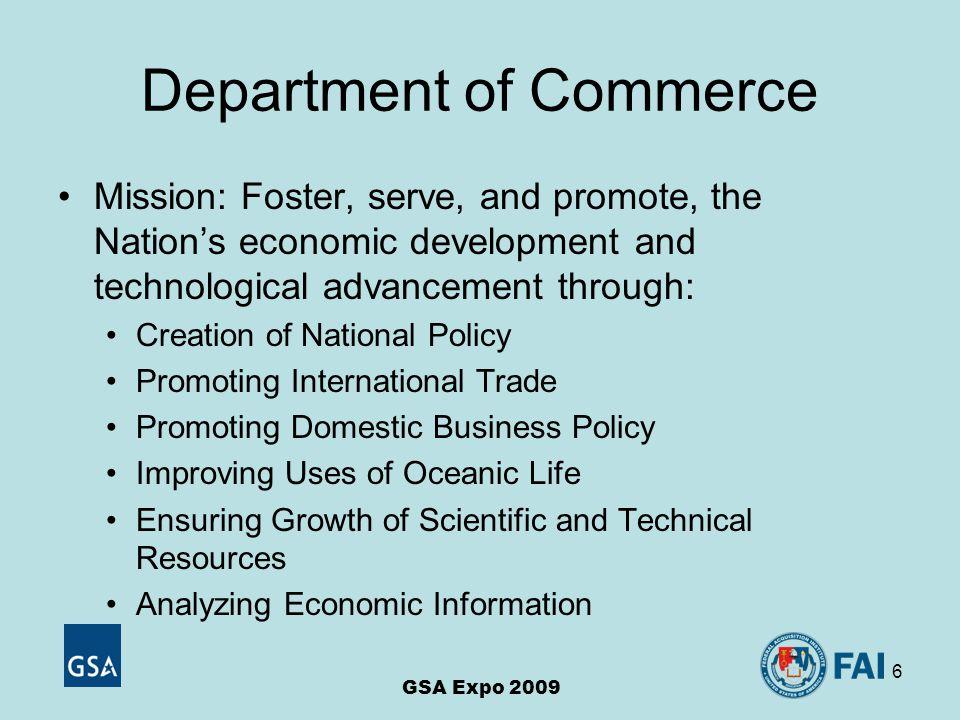 7 DOC COTR Nuances 36,000 employees across 12 Bureaus 1,500 COTRs COTR Certification Program Includes Four (4) Certification Levels Project Management Competency Performance Plan Element GSA Expo 2009