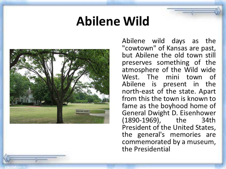 Abilene Wild Abilene wild days as the