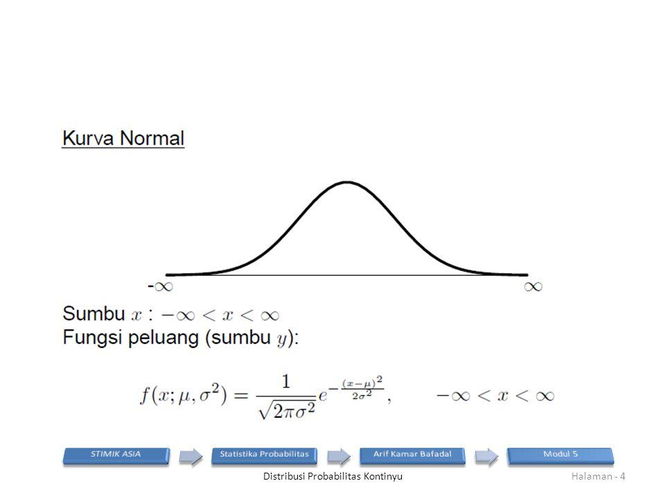 Distribusi Probabilitas KontinyuHalaman - 4