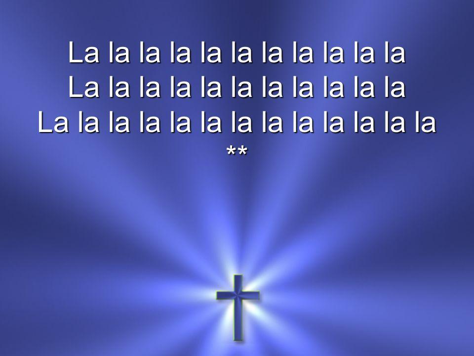 La la la la la la la la la la la La la la la la la la la la la la la la **