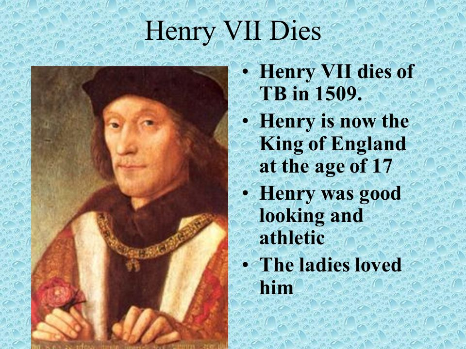 Mary I Daughter of Henry and Catherine of Aragon Comes to power after her ½ brother dies Wants to make England Catholic again Known as Bloody Mary Dies in 1558 from Ovarian Cancer Her ½ sister Elizabeth is next
