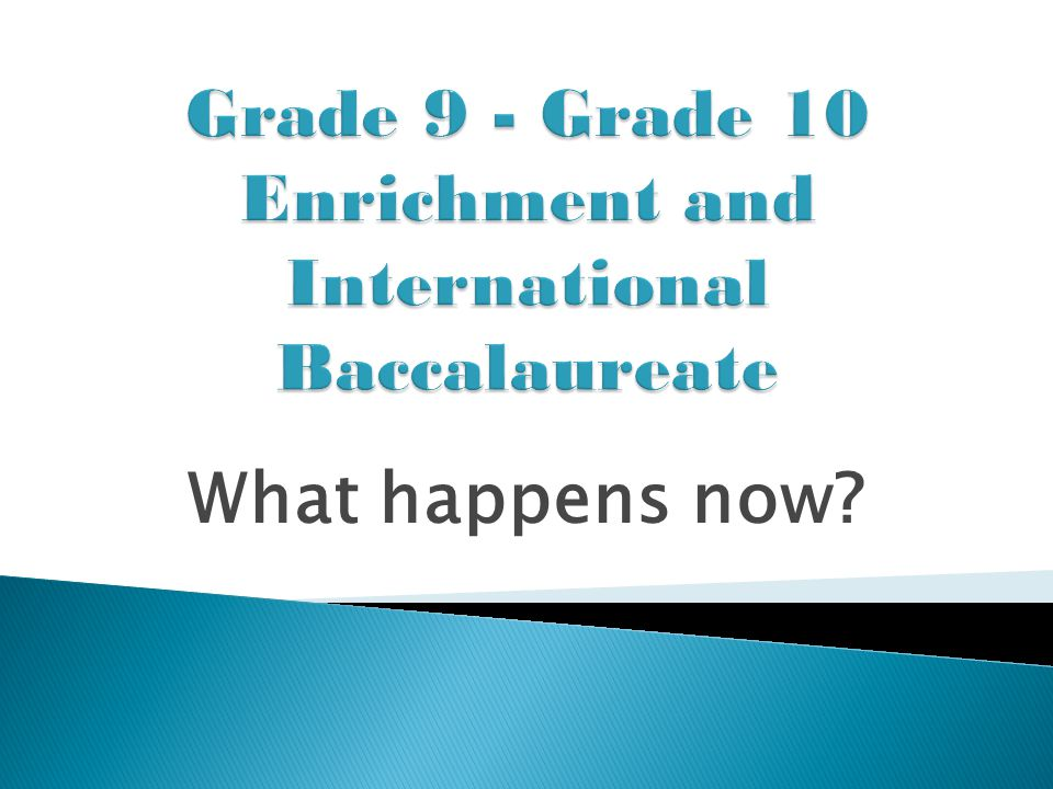  Final IB marks range from 0 – 7. A boost of 0 – 7 may be given to students who work hard.
