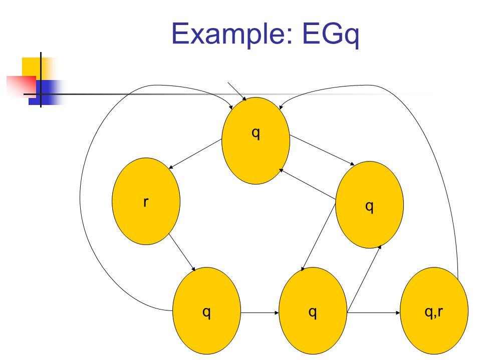Example: EGq r qq q q q,r