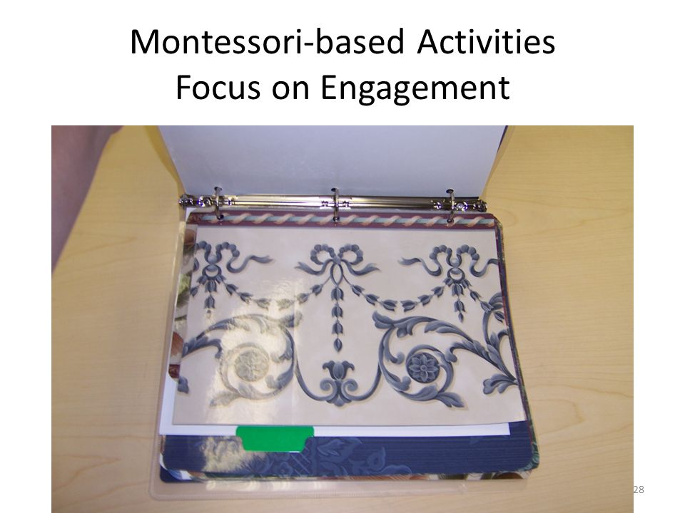Montessori-based Activities Focus on Engagement 28