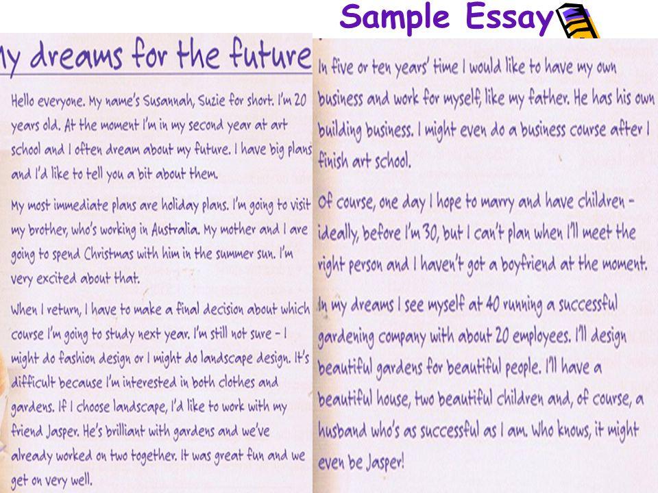 Future Plans Essay