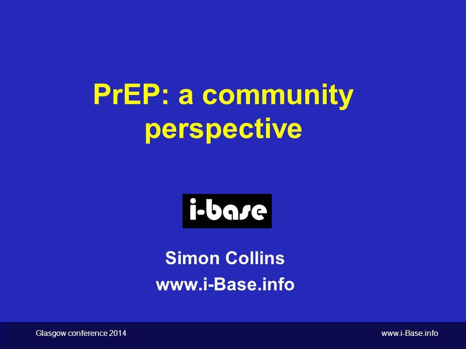Glasgow conference 2014 www.i-Base.info