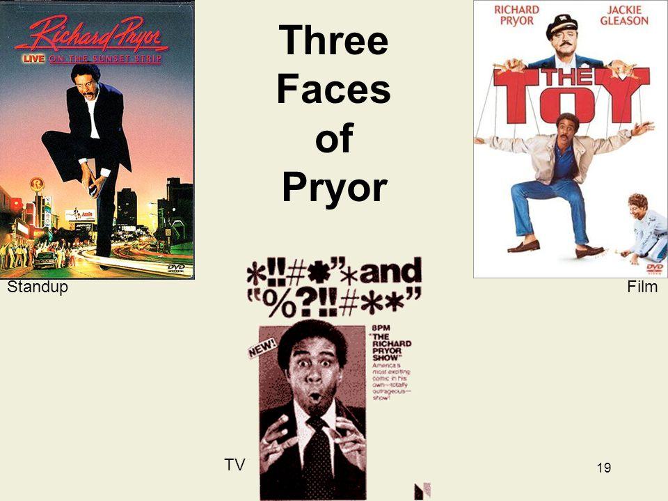 19 Three Faces of Pryor Standup Film TV