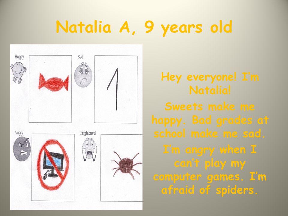Daria, 8 years old Hi everyone.I'm Daria. I like getting presents.