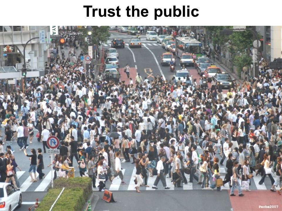 Trust the public
