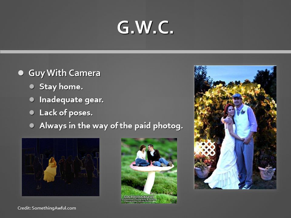 G.W.C. Guy With Camera Guy With Camera Stay home.