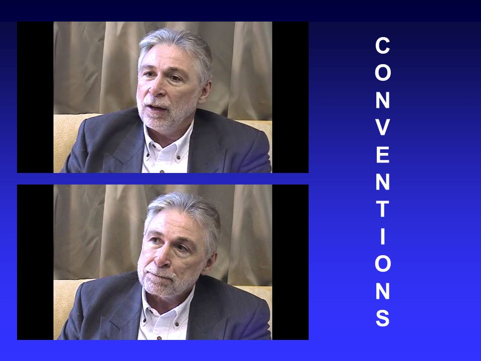 CONVENTIONSCONVENTIONS