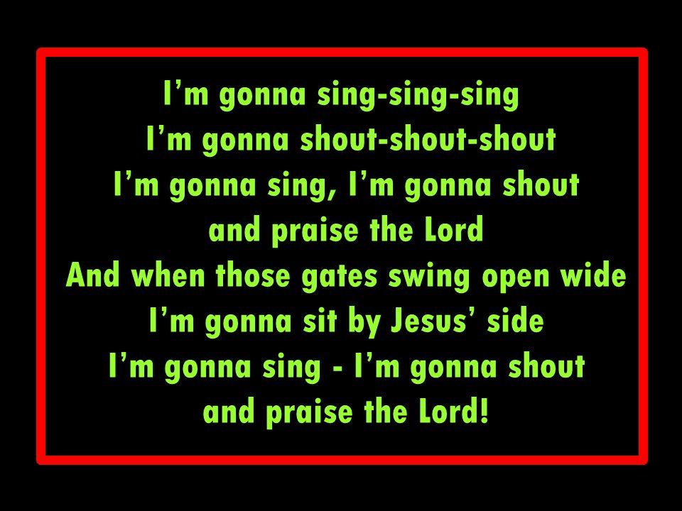 Knock, Knock, Knock I heard Jesus knocking.Tug, Tug, Tug Tugging on my heart strings.
