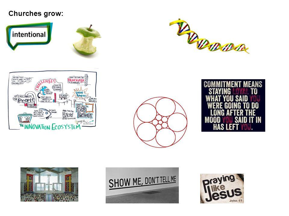 Churches grow: