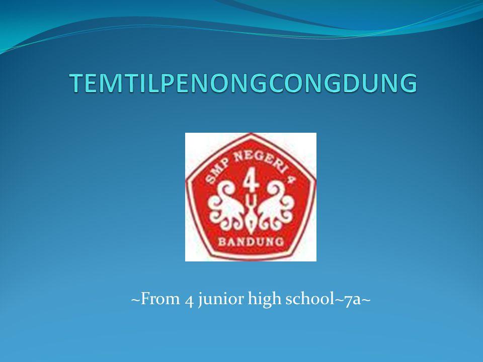 ~From 4 junior high school~7a~