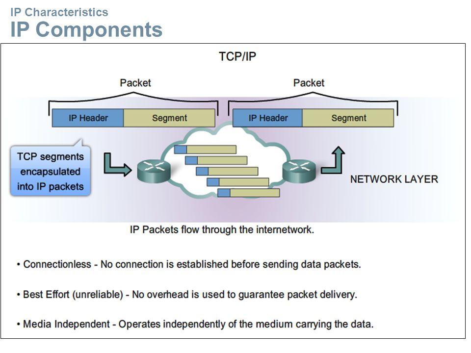 IP Characteristics IP Components