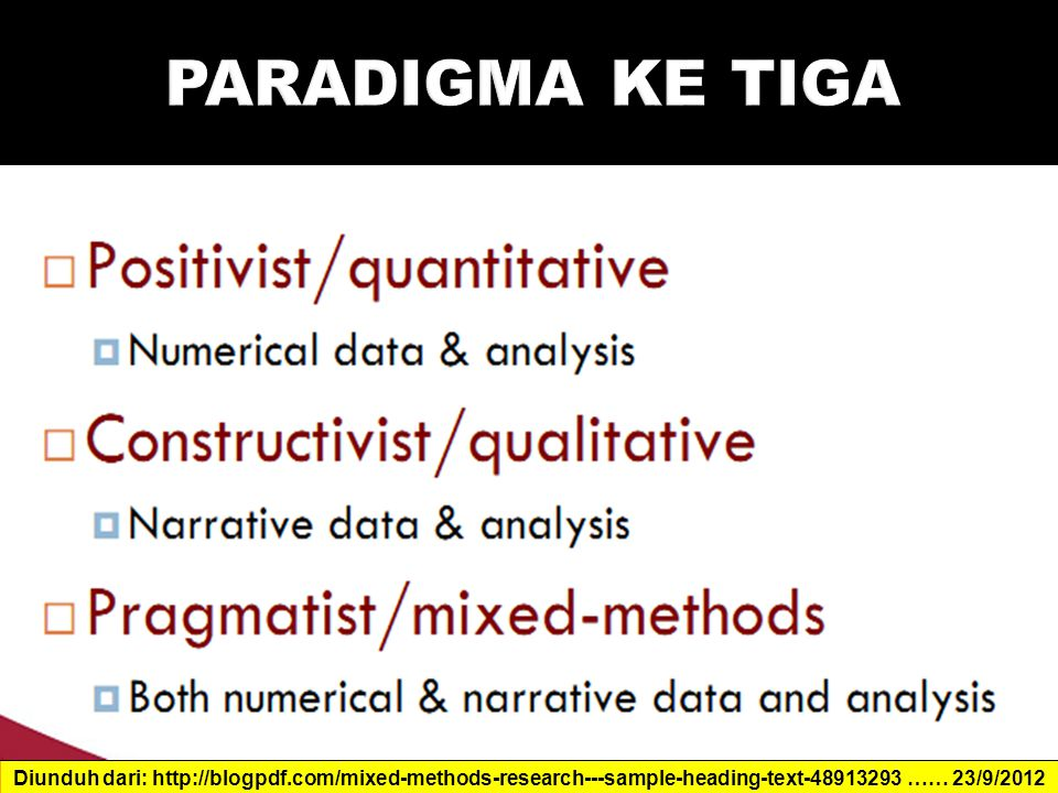 Diunduh dari: http://blogpdf.com/mixed-methods-research---sample-heading-text-48913293 …… 23/9/2012