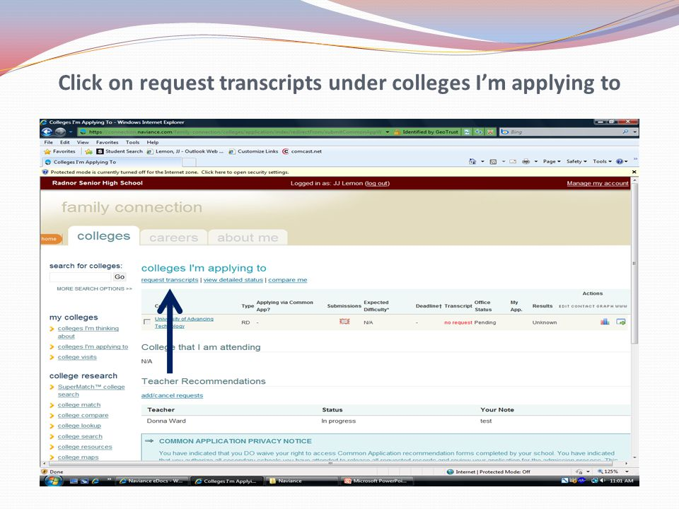 Under Type, please select the admissions process you're applying under (e.g. Regular, ED, EA)
