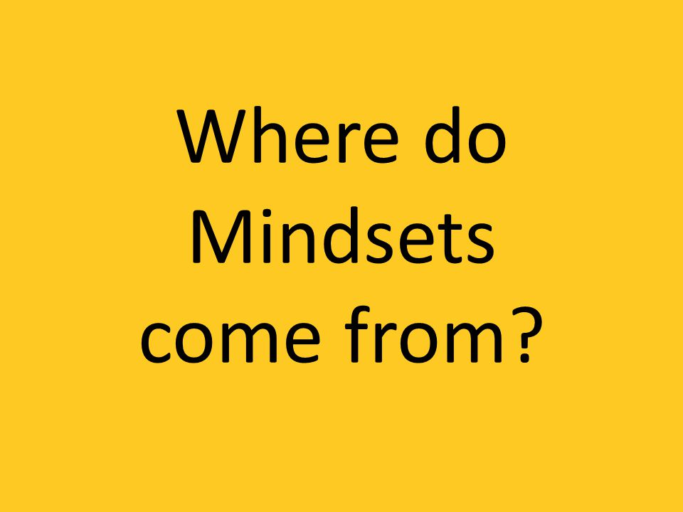 Culture of growth mindset