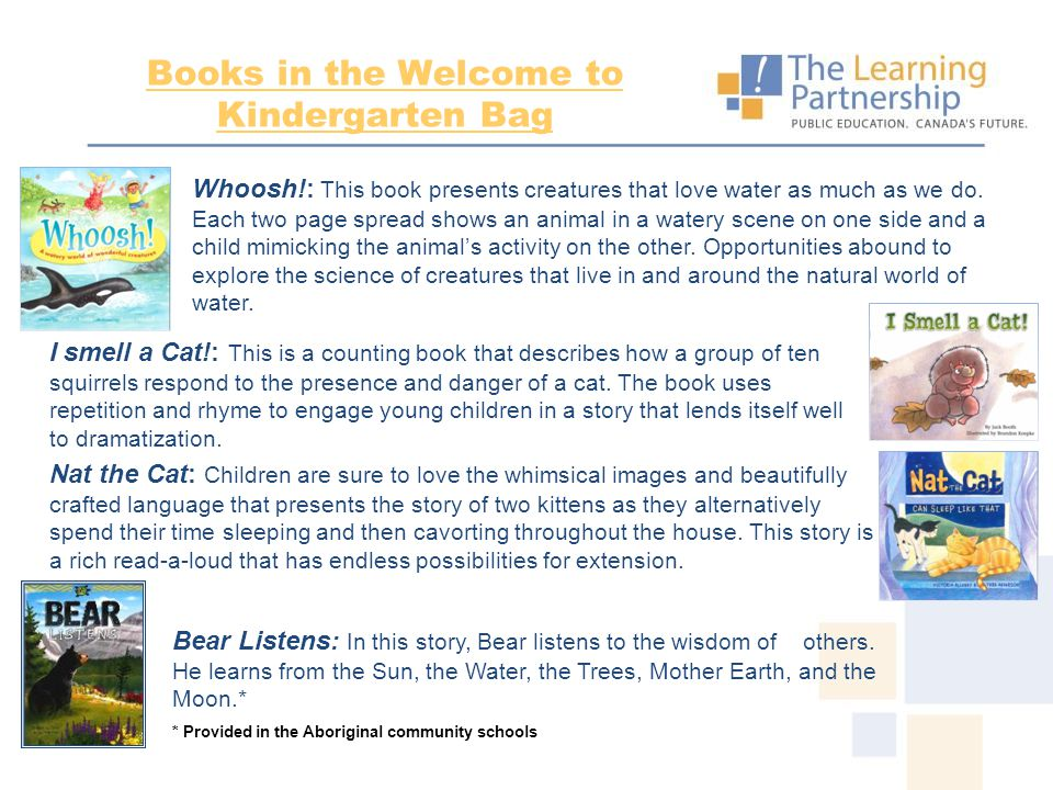 Enrichment Resources* WTK My Story Scrapbook The story of a WTK Orientation is told so the child and family can revisit their experiences and then use what they learned to do activities together that can be shown on the scrapbook pages.