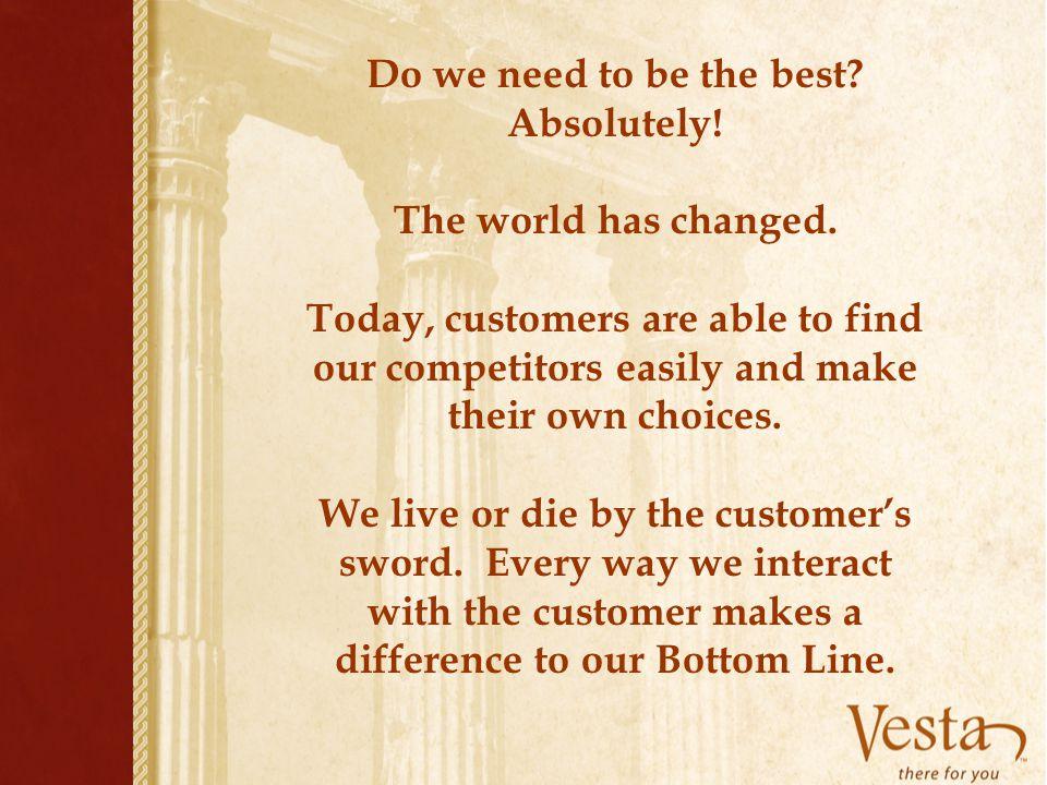 The Vesta Vow calls for: Gracious Greetings Enjoyable Experiences Fond Farewells.