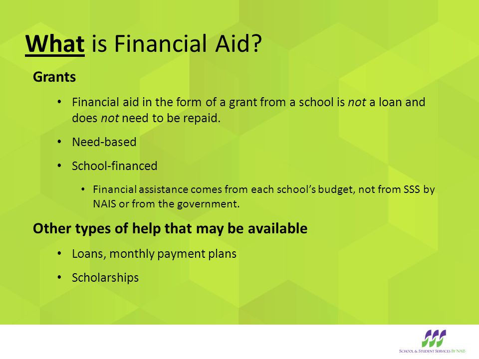 How is my financial aid award calculated.