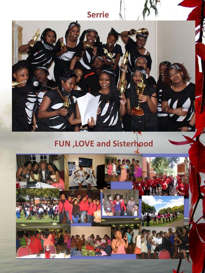 FUN,LOVE and Sisterhood Serrie