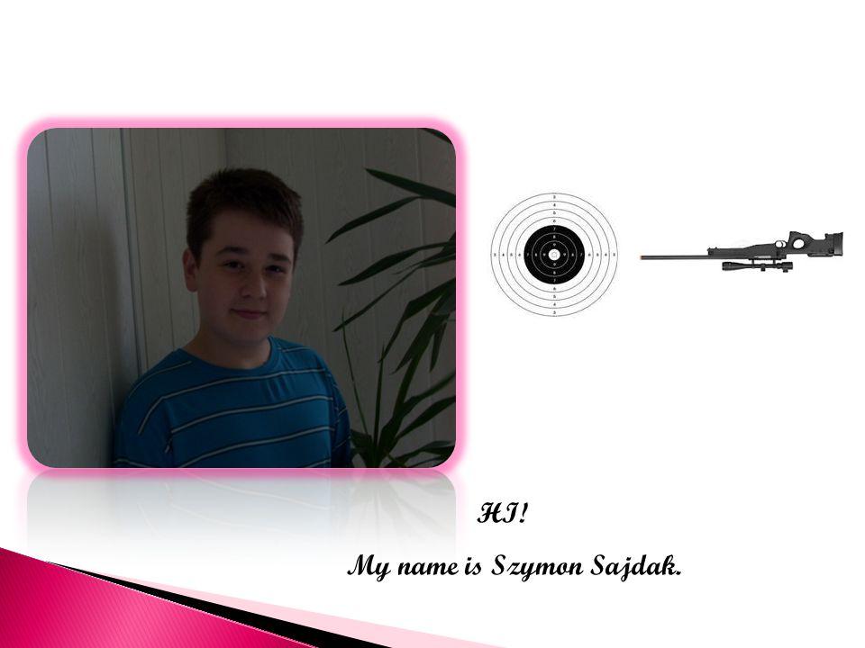 HI! My name is Szymon Sajdak.