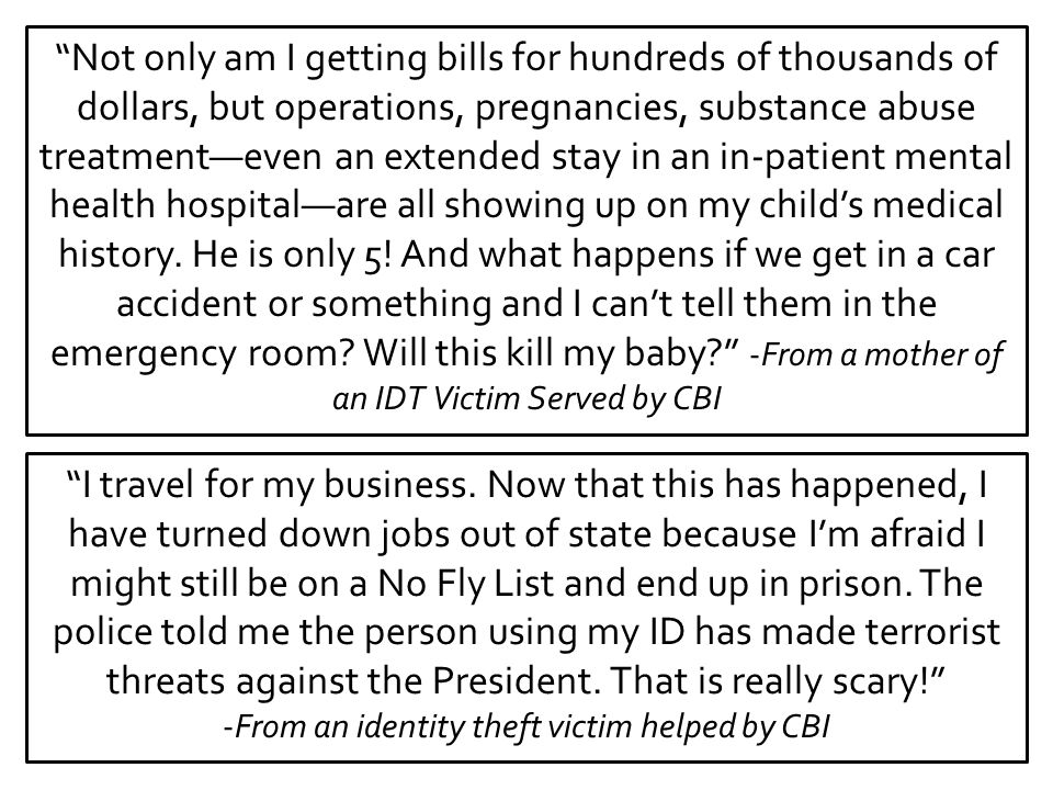 """""""Not only am I getting bills for hundreds of thousands of dollars, but operations, pregnancies, substance abuse treatment—even an extended stay in an"""