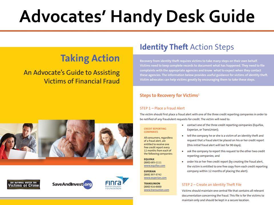 Advocates' Handy Desk Guide