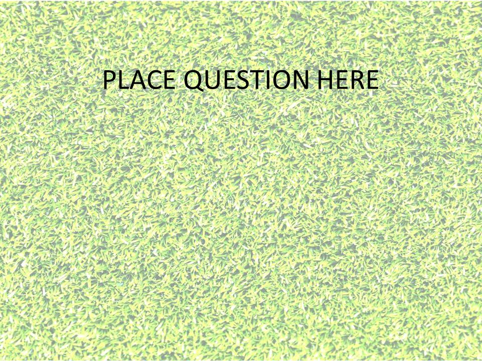PLACE QUESTION HERE
