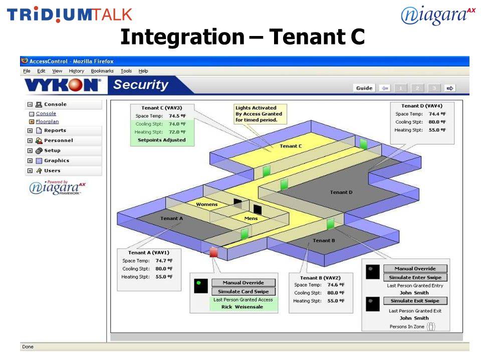15 Integration – Tenant C
