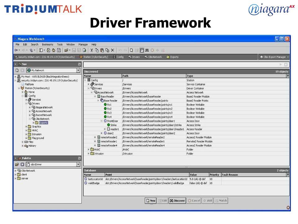 22 Driver Framework