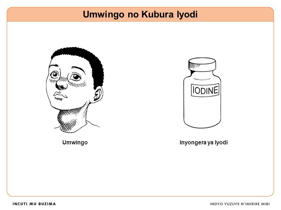 Umwingo Umwingo no Kubura Iyodi Inyongera ya Iyodi