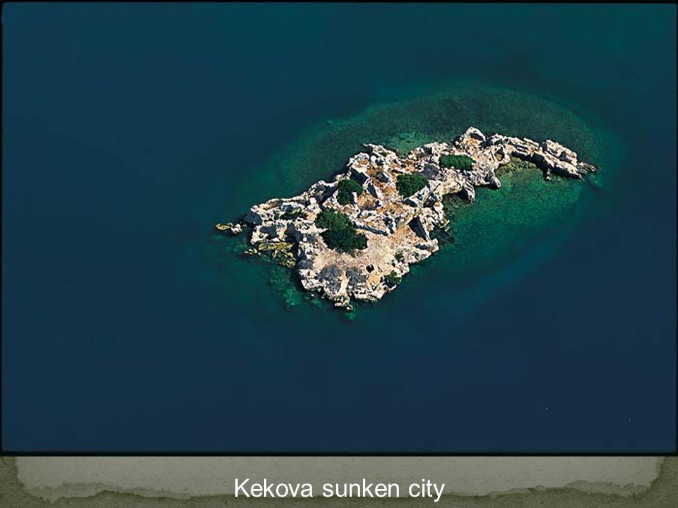 Kekova sunken city