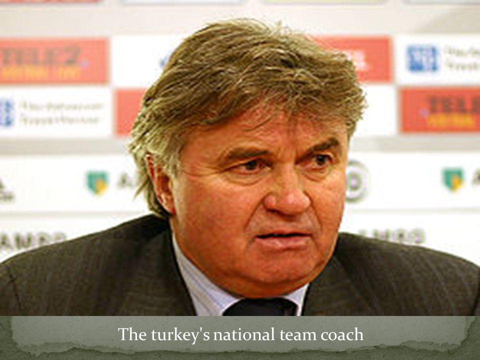 The turkey s national team coach
