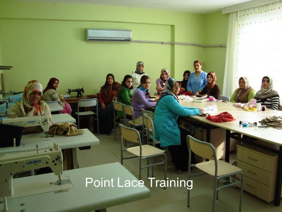 Point Lace Training