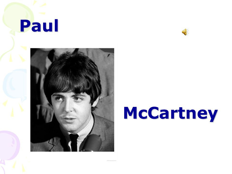Paul McCartney McCartney