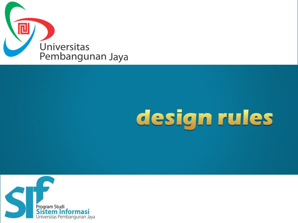 design rules Designing for maximum usability – the goal of interaction design Principles of usability –general understanding Standards and guidelines –direction for design Design patterns –capture and reuse design knowledge