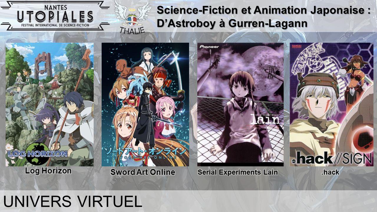 Science-Fiction et Animation Japonaise : D'Astroboy à Gurren-Lagann UNIVERS VIRTUEL