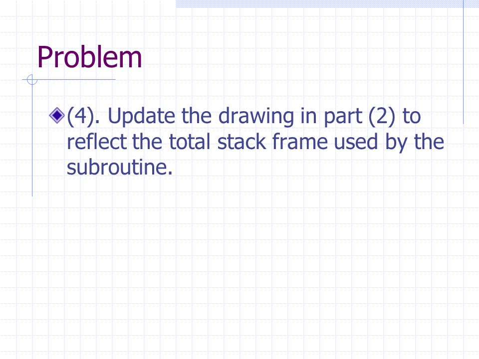 Problem (4).