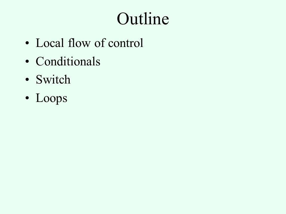 Coercions into value computations := xa > b Generate new label Lf Load_Constant R0, 0; Generate code for Boolean(right, 0, Lf) Load_Local 'a', R1; CMP R1, 'b' ; IF <= GOTO Lf; Load_Constant R0, 1 Lf: Store_Local R0, 'x'
