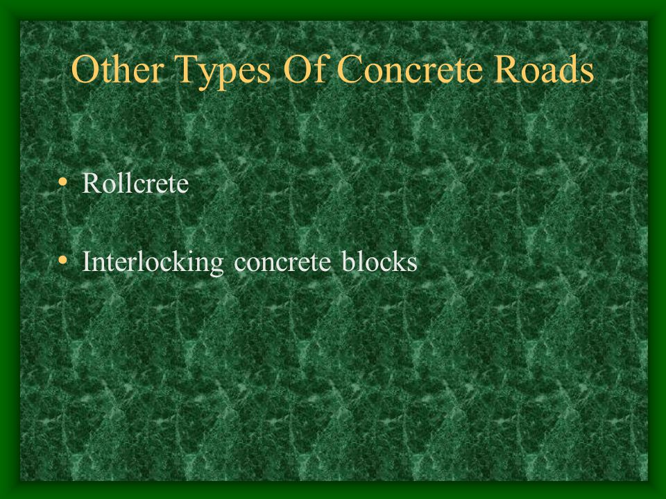 Other Types Of Concrete Roads Rollcrete Interlocking concrete blocks