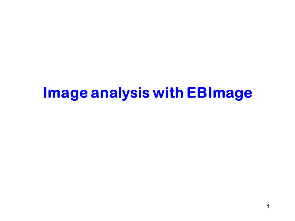 2 Introduction EBImage Set of quantitative image processing tools –Image reading/writing/rendering –Image processing (linear operators, matrix algebra, morphology) –Object detection –Features extraction Goal –Extract cellular descriptors –Classify cells –Automatic phenotyping –Process/transform images